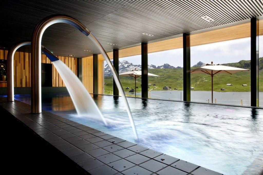 Hotel Frutt Lodge & Spa, Melchsee Frutt, Sommer 2012, Foto: Elge Kenneweg www.elgekenneweg.ch