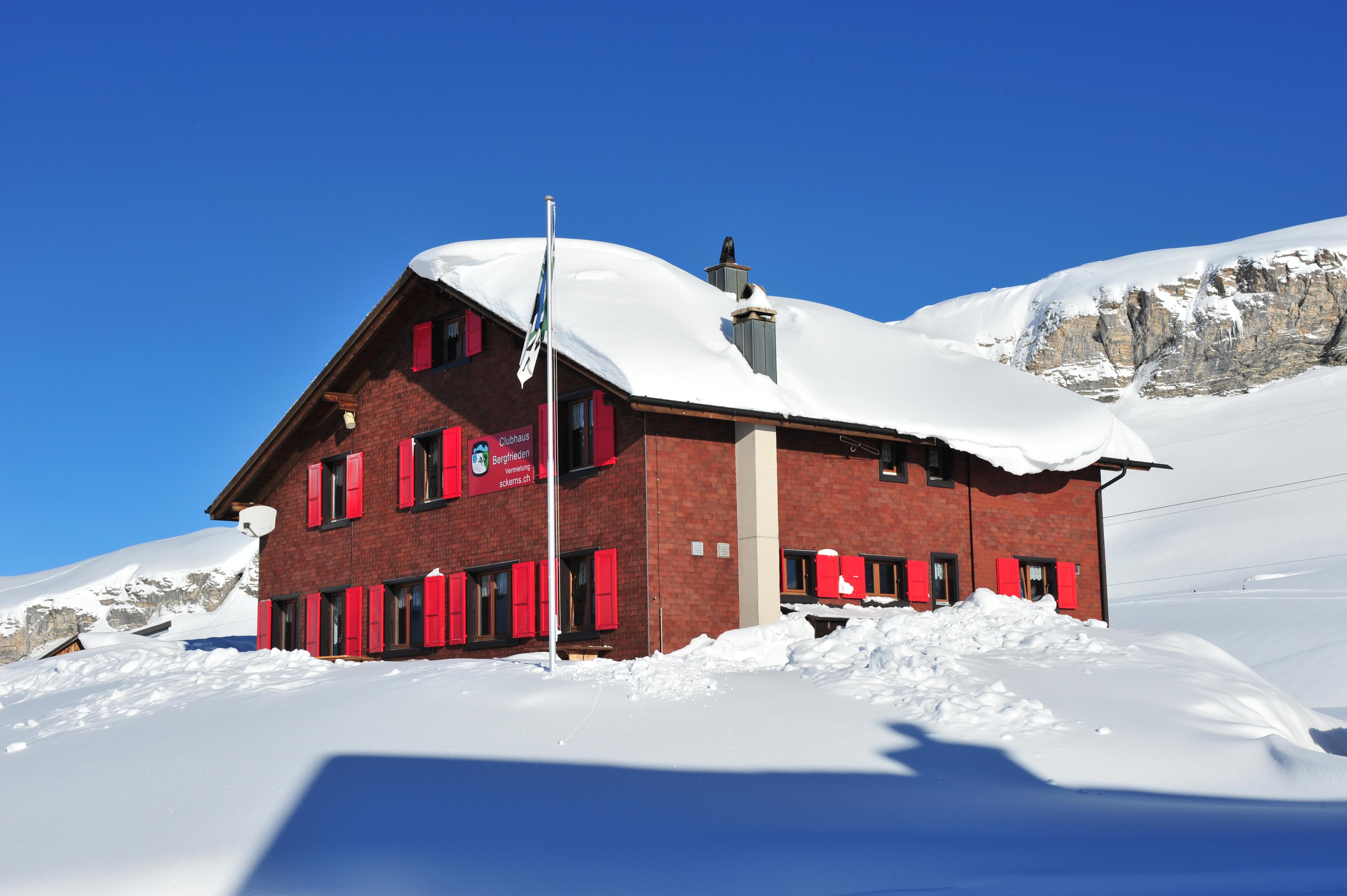 01_Gruppenunterkünfte_Clubhaus Bergfrieden Winter